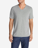 Eddie Bauer Men's Lookout Short-Sleeve V-Neck T-Shirt