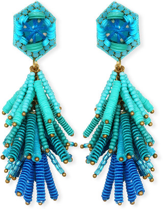 Suzanna Dai Fiesta Tassel Drop Earrings