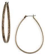 Lucky Brand Medium Oblong Hoop Earrings