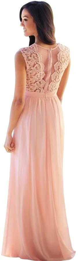 920502de2a Pink Sequin Prom Dress - ShopStyle Canada