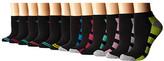 Steve Madden 12-Pack Athletic Low Cut Sock