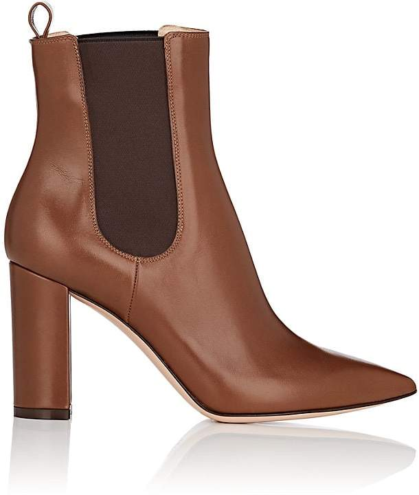 Gianvito Rossi Women's Myers Leather Chelsea Boots