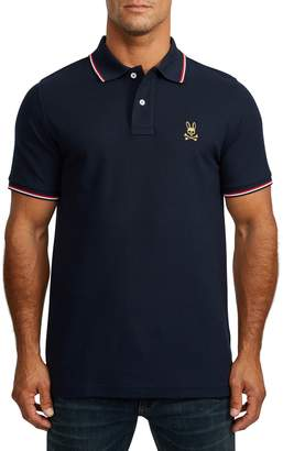 Psycho Bunny St. Lucia Tipped Pique Polo