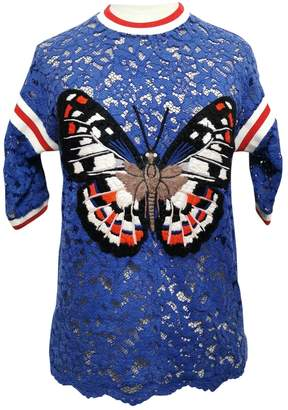 Gucci \N Blue Lace Tops