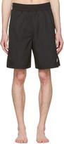 Marcelo Burlon County of Milan Black Chico Board Shorts