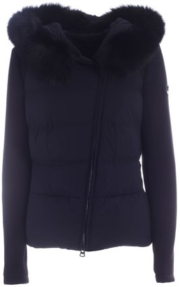 Peuterey Urban Down Jacket In Black Fabric