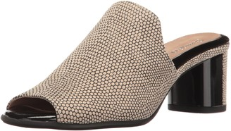 BeautiFeel Women's Raine Mule Ivory/Black Mesh Pr 41 EU/10-10.5 M US