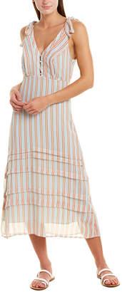 Gilli Knife Pleat Midi Dress