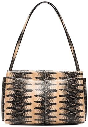 Wandler Hortensia Python print mini bag