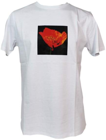 Soulland White Cookie Printed T-shirt