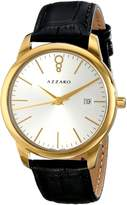 Azzaro Men's AZ2040.62SB.000 Legend Analog Display Swiss Quartz Black Watch