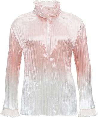 Philosophy di Lorenzo Serafini Pleated Nylon Shirt