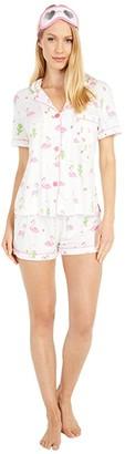 PJ Salvage Playful Prints Sleep Set (Ivory) Women's Pajama Sets