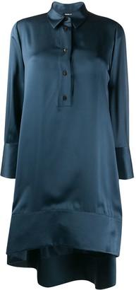 Giorgio Armani Button Down Silk Shift Dress