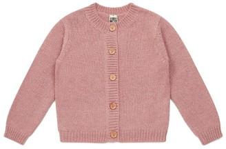 Bonton Button-Up Cardigan (4-12 Years)