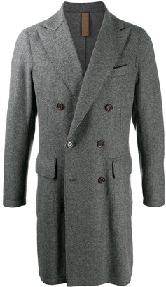 Eleventy Double-Breasted Coat