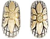 Stephen Dweck Floral Clip-On Earrings