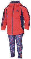 adidas Baby Girls Jacket and Leggings Set