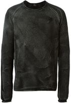 Lost & Found Ria Dunn - washed effect sweater - men - Cotton - XS