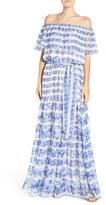 Eliza J Petite Women's Blouson Maxi Dress