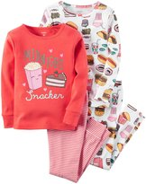 Carter's 4 Piece PJ Set (Toddler/Kid) - Print - 8