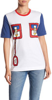 Love Moschino Short Sleeve Front Graphic Print Tee