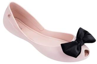 Melissa Queen VII Peep Toe Flat