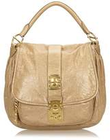 Miu Miu Pre-owned: Leather Shoulder Bag.