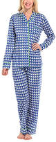Malabar Bay Navy Annapolis Organic Cotton Pajama Set