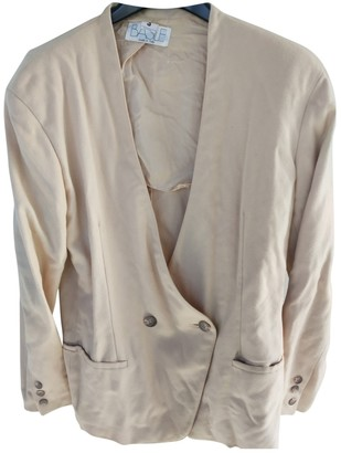 Basile Camel Cashmere Jacket for Women