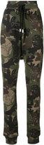 Haculla - camouflage print track pants - women - Cotton - XXS