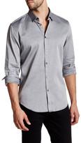 Calvin Klein Herringbone Twill Long Sleeve Slim Fit Shirt