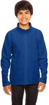 Team 365 Youth Campus Microfleece Jacket M