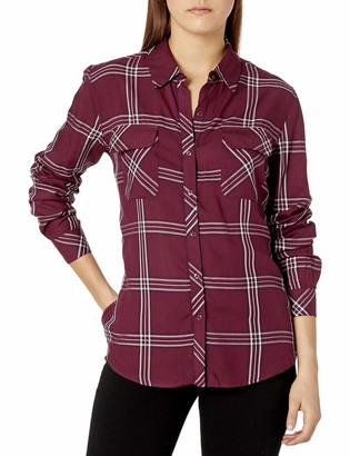 GUESS Women's Long Sleeve Dylan Shirt