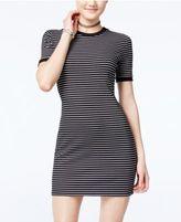One Clothing Juniors' Ribbed T-Shirt Dress