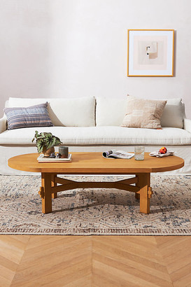 Amber Lewis for Anthropologie Henderson Coffee Table By Amber Lewis for Anthropologie in Beige