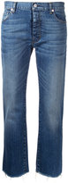 Nili Lotan cropped jeans - women - Cotton/Polyurethane - 29