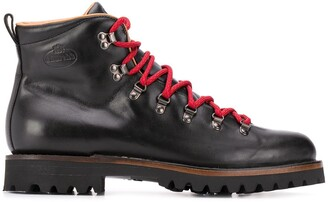 Church's Lace-Up Leather Boots