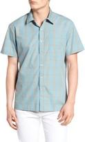 Brixton Men's Hutton Stripe Woven Shirt
