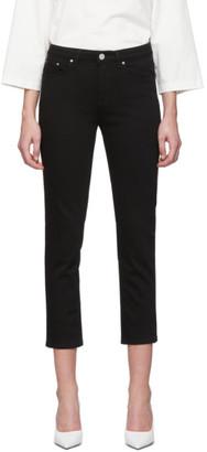 Totême Black Straight Jeans