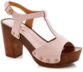 Godiva Platform Block Heel Sandal