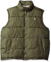 U.S. Polo Assn. Men's Basic Puffer Vest
