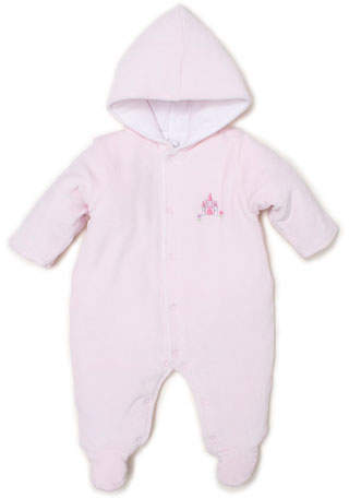 21713edba8d Unicorn Magic Velour Hooded Footie Bunting, Size 0-9 Months