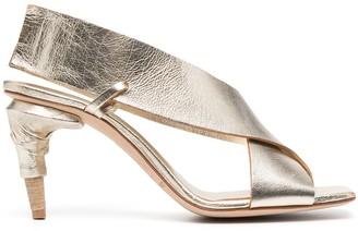 Officine Creative Raimonde metallic sandals