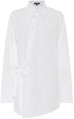 Ann Demeulemeester Cotton poplin shirt