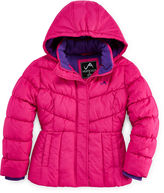 JCPenney Vertical 9 Hooded Puffer Jacket - Girls 7-16 and Plus