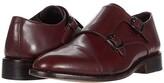 Anthony Logistics For Men Veer Roosevelt II Double Monk Strap (Oxblood) Men's Shoes