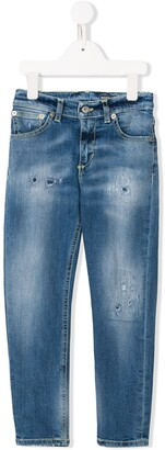 Dondup Kids Distressed Detail Jeans