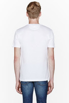 Versace White etched logo t-shirt