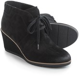 Black Suede Wedge Heels - ShopStyle